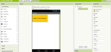 MIT App Inventor 2 Disabilità App Android Apprendimento